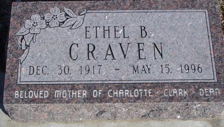 CRAVEN, ETHEL B. - Ida County, Iowa | ETHEL B. CRAVEN