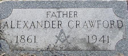 CRAWFORD, ALEXANDER - Ida County, Iowa   ALEXANDER CRAWFORD