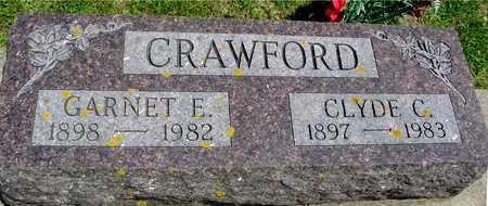 CRAWFORD, CLYDE & GARNET E. - Ida County, Iowa   CLYDE & GARNET E. CRAWFORD