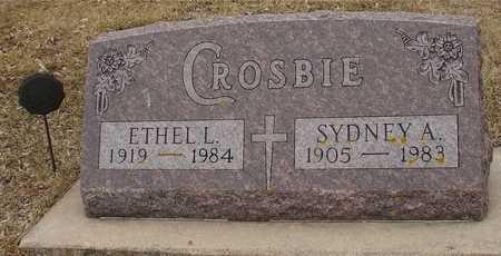 CROSBIE, SYDNEY & ETHEL - Ida County, Iowa | SYDNEY & ETHEL CROSBIE