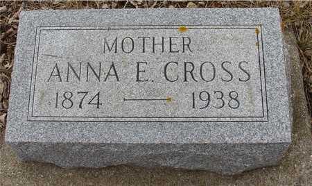 CROSS, ANNA E. - Ida County, Iowa | ANNA E. CROSS