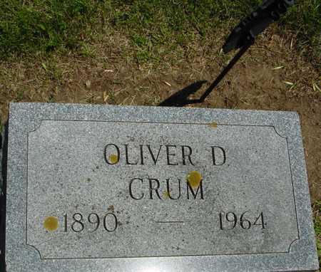 CRUM, OLIVER D. - Ida County, Iowa | OLIVER D. CRUM