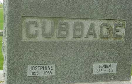 CUBBAGE, EDWIN & JOSEPHINE - Ida County, Iowa | EDWIN & JOSEPHINE CUBBAGE