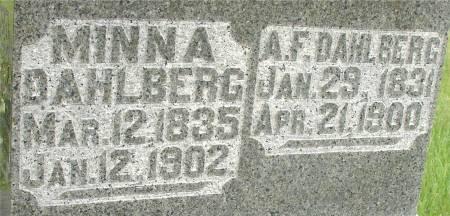 DAHLBERG, A. FREDRIK - Ida County, Iowa | A. FREDRIK DAHLBERG