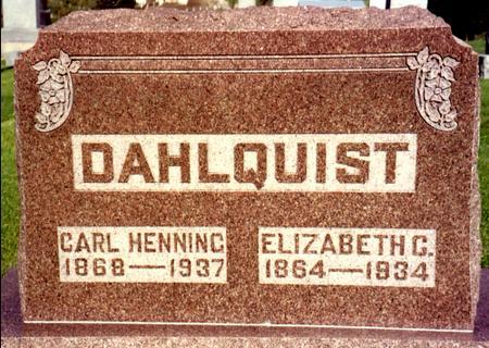 DAHLQUIST, CARL - Ida County, Iowa   CARL DAHLQUIST