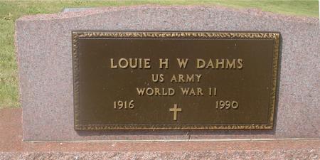 DAHMS, LOUIE - Ida County, Iowa | LOUIE DAHMS