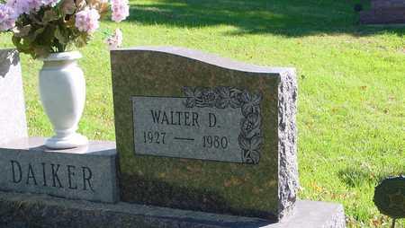 DAIKER, WALTER D. - Ida County, Iowa   WALTER D. DAIKER