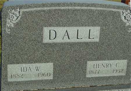 DALL, IDA W. - Ida County, Iowa | IDA W. DALL