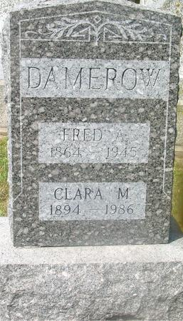 DAMEROW, FRED A. & CLARA - Ida County, Iowa   FRED A. & CLARA DAMEROW