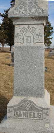 DANIELS, FAMILY MARKER - Ida County, Iowa   FAMILY MARKER DANIELS