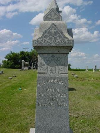 DANIELS, S.  B. - Ida County, Iowa | S.  B. DANIELS