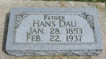 DAU, HANS - Ida County, Iowa | HANS DAU