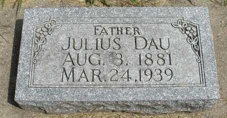 DAU, JULIUS - Ida County, Iowa | JULIUS DAU
