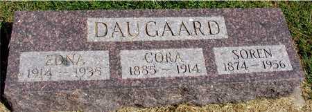 DAUGAARD, SOREN, CORA, EDNA - Ida County, Iowa | SOREN, CORA, EDNA DAUGAARD