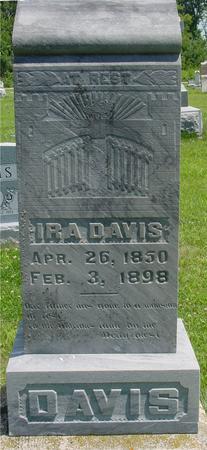 DAVIS, IRA - Ida County, Iowa | IRA DAVIS