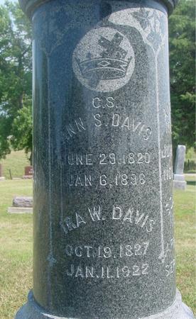 DAVIS, IRA W. & ANN - Ida County, Iowa | IRA W. & ANN DAVIS
