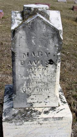 DAVIS, MARY - Ida County, Iowa | MARY DAVIS