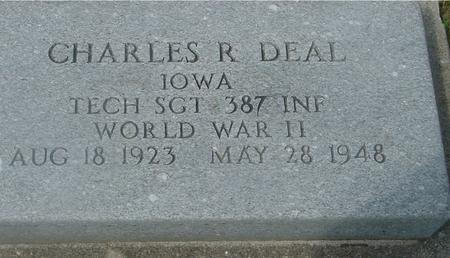 DEAL, CHARLES R. - Ida County, Iowa | CHARLES R. DEAL
