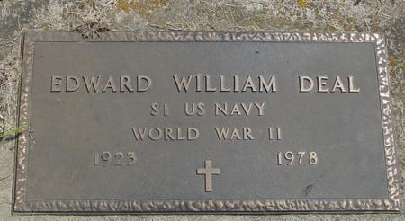DEAL, EDWARD WILLIAM - Ida County, Iowa | EDWARD WILLIAM DEAL