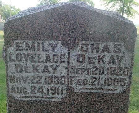 DEKAY, CHARLES & EMILY - Ida County, Iowa | CHARLES & EMILY DEKAY