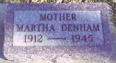 DENHAM, MARTHA - Ida County, Iowa | MARTHA DENHAM
