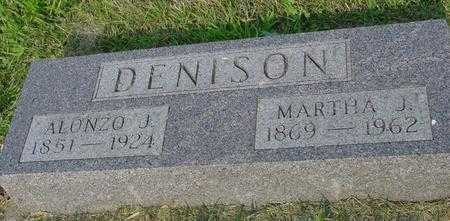 DENISON, MARTHA J. - Ida County, Iowa | MARTHA J. DENISON