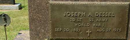 DESSEL, JOSEPH A. - Ida County, Iowa | JOSEPH A. DESSEL