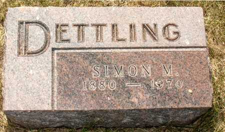 DETTLING, SIMON M. - Ida County, Iowa | SIMON M. DETTLING