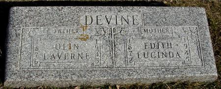 DEVINE, OLIN & EDITH - Ida County, Iowa | OLIN & EDITH DEVINE