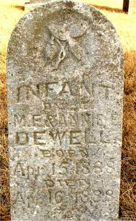DEWELL, INFANT DAUGHTER - Ida County, Iowa | INFANT DAUGHTER DEWELL