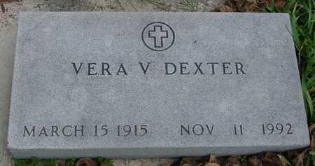 DEXTER, VERA V. - Ida County, Iowa   VERA V. DEXTER