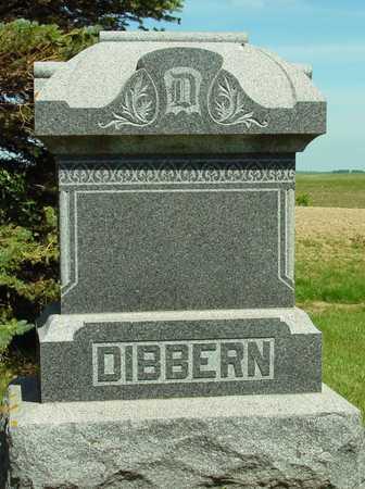 DIBBERN, FAMILY MONUMENT - Ida County, Iowa | FAMILY MONUMENT DIBBERN
