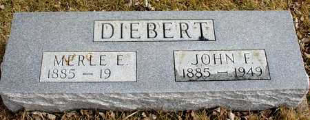 DIEBERT, JOHN F. - Ida County, Iowa | JOHN F. DIEBERT