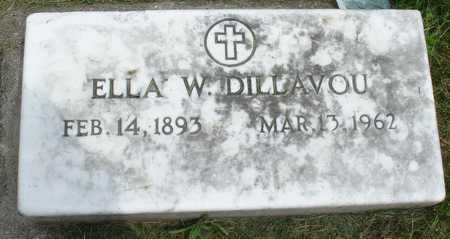 DILLAVOU, ELLA W. - Ida County, Iowa | ELLA W. DILLAVOU
