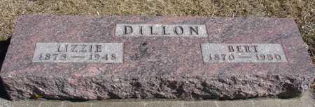 DILLON, BERT & LIZZIE - Ida County, Iowa | BERT & LIZZIE DILLON
