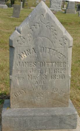 DITTMER, ANNA - Ida County, Iowa | ANNA DITTMER