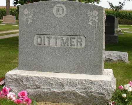 DITTMER, FAMILY MARKER - Ida County, Iowa | FAMILY MARKER DITTMER