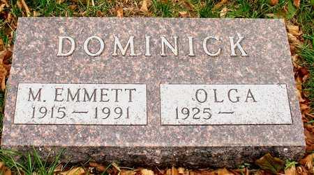 DOMINICK, M. EMMETT - Ida County, Iowa | M. EMMETT DOMINICK