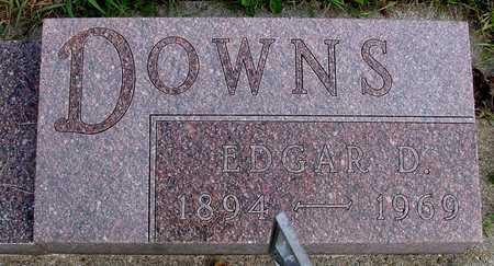 DOWNS, EDGAR D. - Ida County, Iowa | EDGAR D. DOWNS