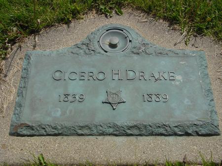 DRAKE, CICERO - Ida County, Iowa | CICERO DRAKE