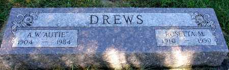 DREWS, A. W. & ROSETTA - Ida County, Iowa   A. W. & ROSETTA DREWS
