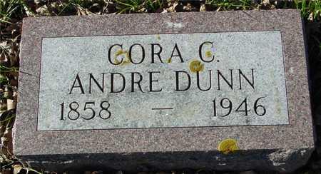 DUNN, CORA C.  ANDRE - Ida County, Iowa | CORA C.  ANDRE DUNN