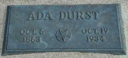 DURST, ADA - Ida County, Iowa | ADA DURST