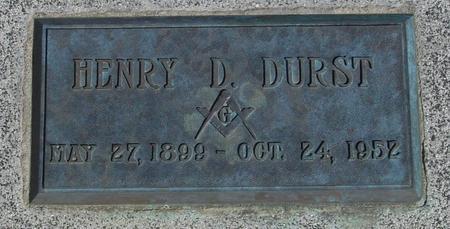 DURST, HENRY D. - Ida County, Iowa | HENRY D. DURST