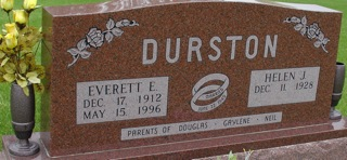 DURSTON, EVERETT - Ida County, Iowa | EVERETT DURSTON