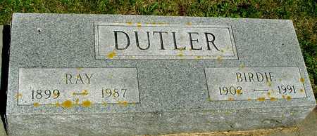 DUTLER, RAY & BIRDIE - Ida County, Iowa | RAY & BIRDIE DUTLER