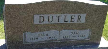 DUTLER, SAM & ELLA - Ida County, Iowa | SAM & ELLA DUTLER