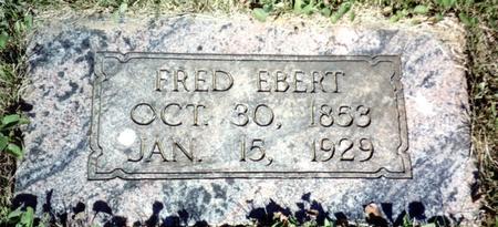 EBERT, FRED - Ida County, Iowa   FRED EBERT