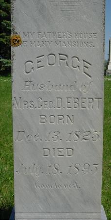 EBERT, GEORGE - Ida County, Iowa | GEORGE EBERT