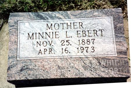 EBERT, MINNIE - Ida County, Iowa | MINNIE EBERT